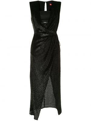 Спортивное платье с запахом с V-образным вырезом без рукавов Manning Cartell