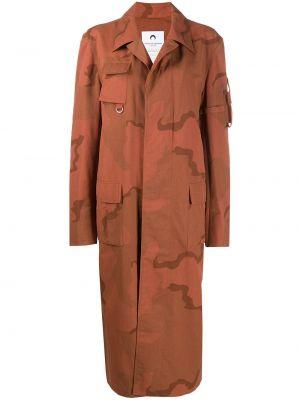 Длинное пальто - оранжевое Marine Serre