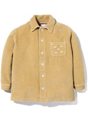 Klasyczna koszula - beżowa Erl Kids