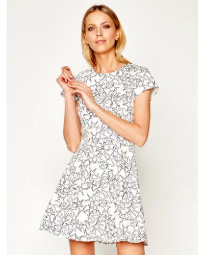 Sukienka casual - biała Max&co.
