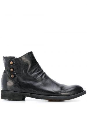 Buty na obcasie na pięcie czarne Officine Creative
