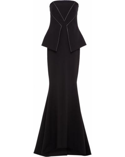 Czarna sukienka elegancka Safiyaa
