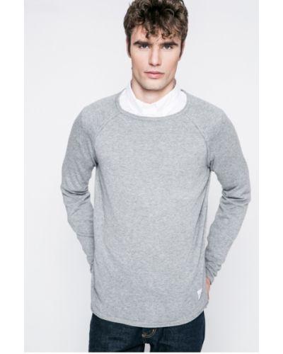 Серый свитер однотонный Only & Sons