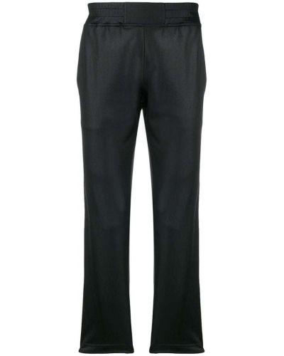 Черные спортивные брюки с поясом Roberto Cavalli