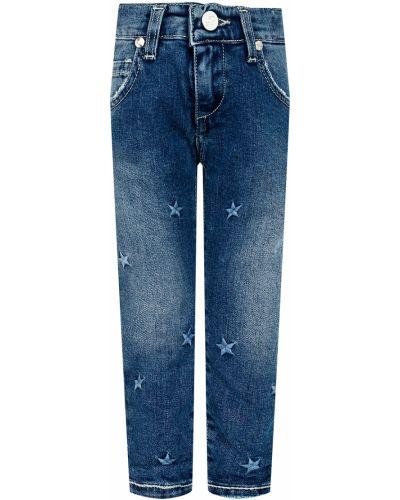 Хлопковые джинсы - синие Miss Blumarine