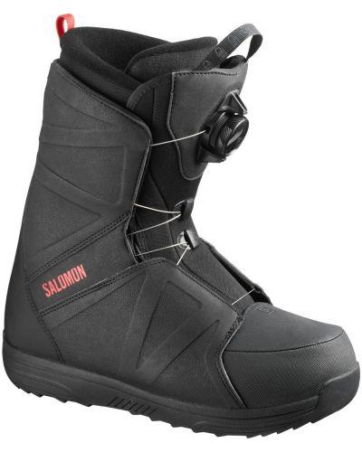 Черные ботинки Salomon