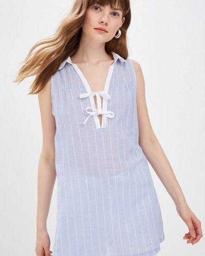 Блузка - голубая Sweewe