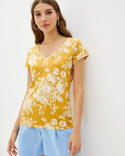 Желтая футболка с короткими рукавами Colin's