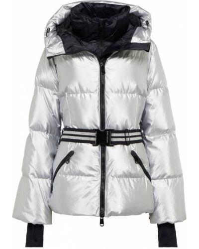 Пуховая куртка - серебряная Goldbergh