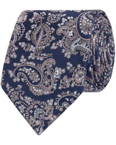 Różowy klasyczny krawat Seidenfalter
