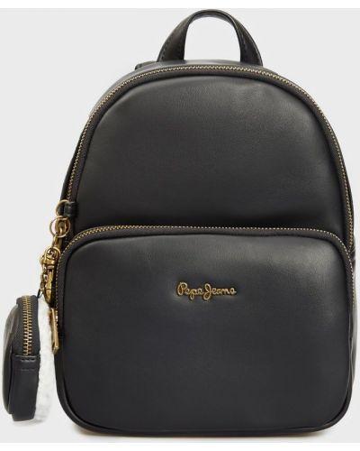 Джинсовый рюкзак - черный Pepe Jeans