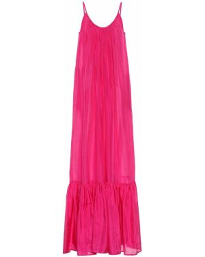 Розовое платье макси Kalita
