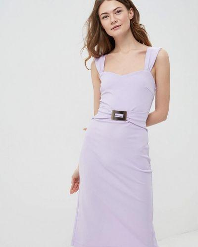 Фиолетовое платье весеннее Rinascimento