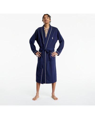 Niebieski szlafrok Ralph Lauren