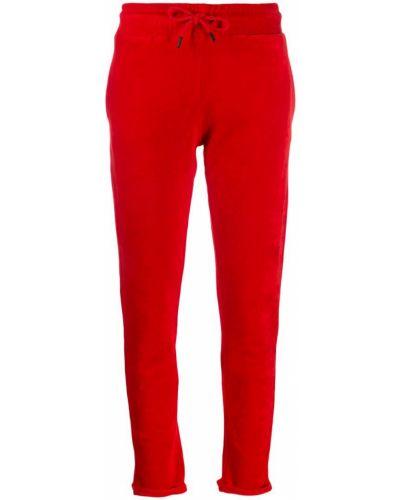 Красные спортивные брюки с поясом Quantum Courage