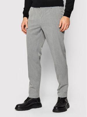 Spodnie materiałowe - szare Boss