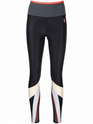 Czarne spodnie z nylonu P.e Nation