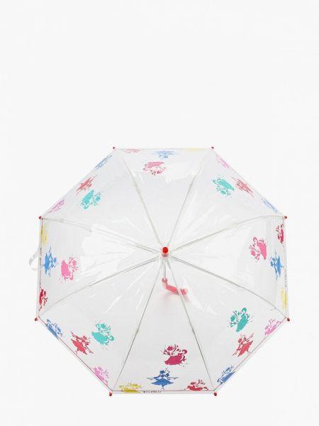 Зонт белый Flioraj