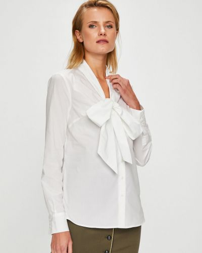 Блузка с длинным рукавом на пуговицах хлопковая Pinko