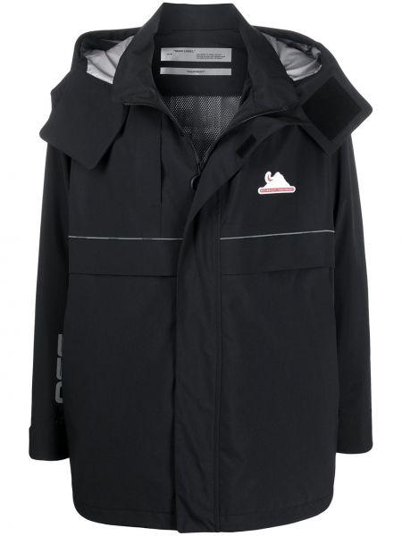 Płaszcz przeciwdeszczowy długo czarny Off-white