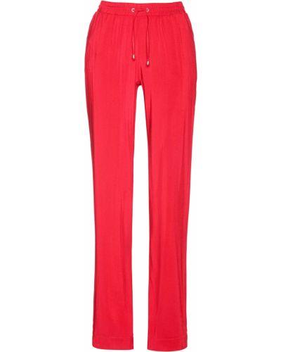 Красные брюки с карманами Bonprix