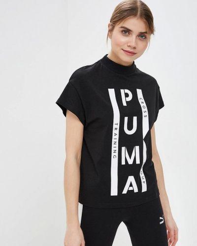 Черное поло Puma