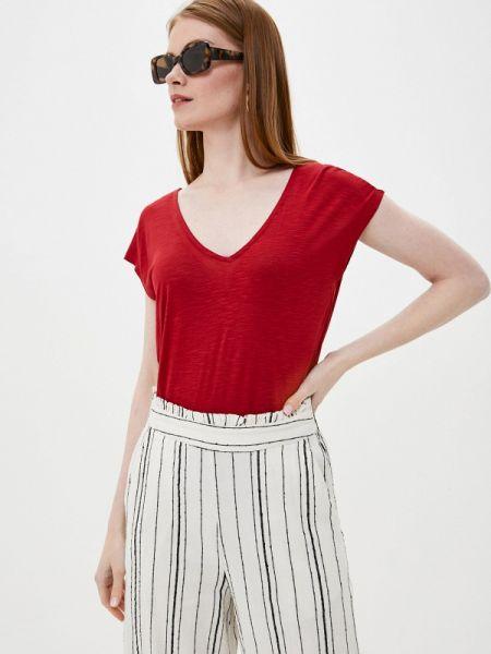 Красная футбольная футболка Tiffosi
