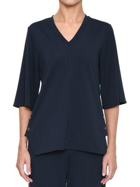 Блузка - синяя Rene Lezard