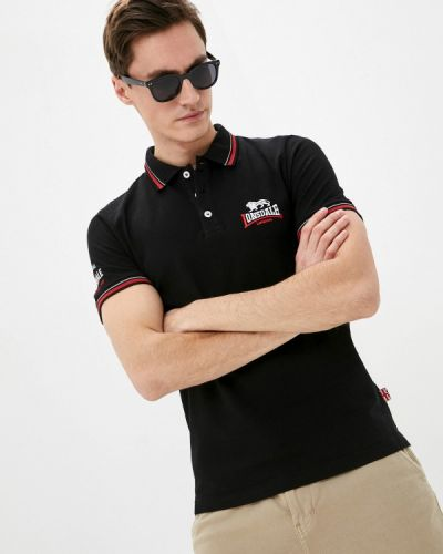 Черная футболка Lonsdale
