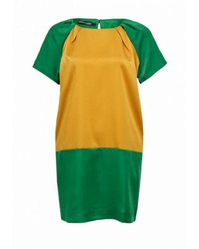 Платье зеленый золотой Love & Light