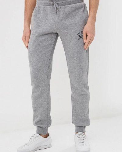 Спортивные брюки серые Fresh Brand