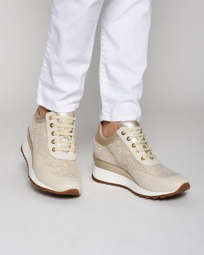 Бежевые кроссовки Loriblu