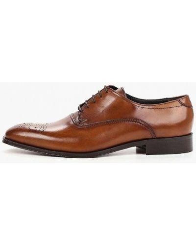 Туфли итальянские коричневый Bata