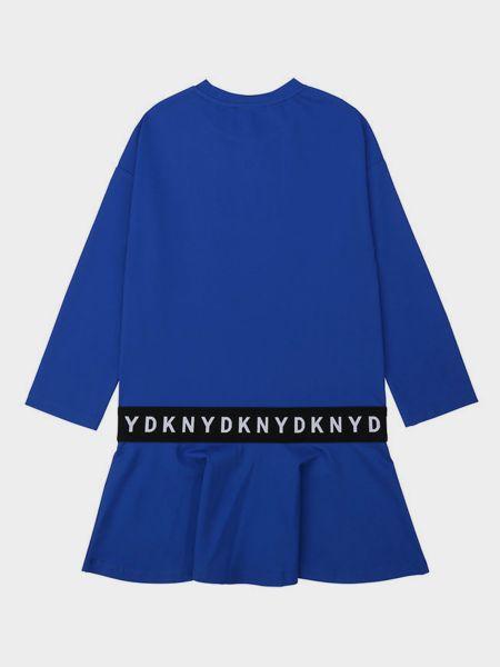 Синее платье Dkny