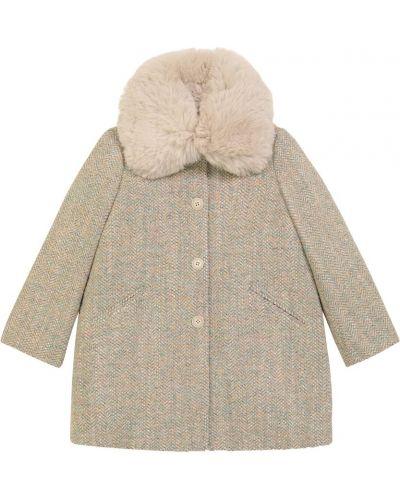 Плюшевое пальто Bonpoint
