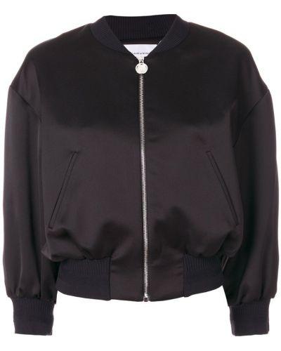 Черная короткая куртка Carven