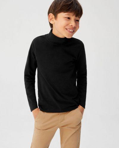 T-shirt elastyczny czarny Mango Kids