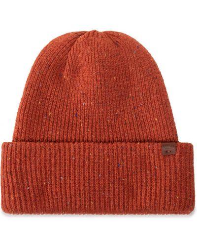 Pomarańczowy czapka baseballowa Barts