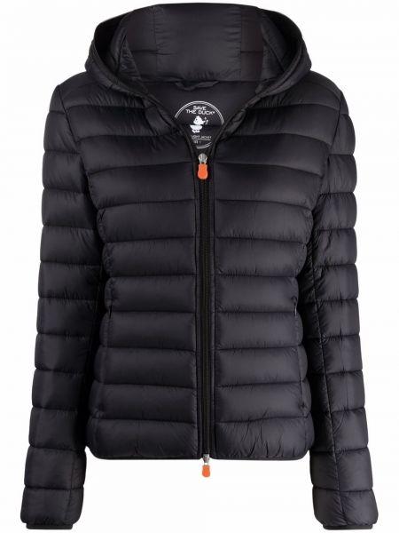 Дутая куртка - черная Save The Duck