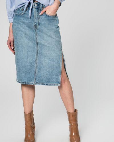 Джинсовая юбка на пуговицах карандаш Levi's®