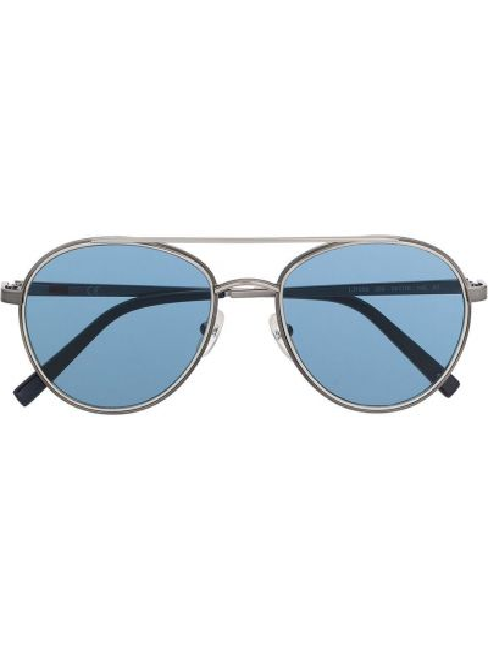 Синие солнцезащитные очки металлические Liu Jo