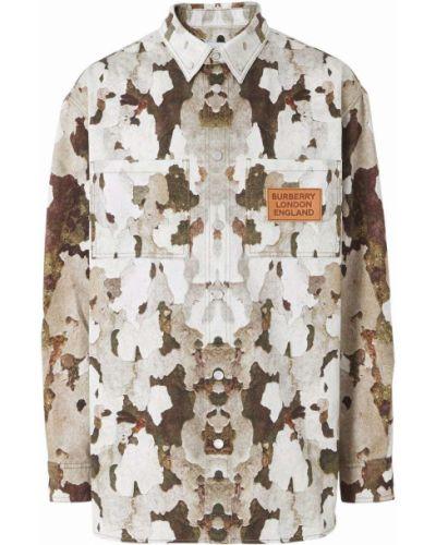 Klasyczna koszula - beżowa Burberry
