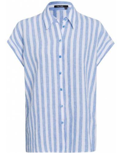 Niebieska bluzka boho Marc Aurel