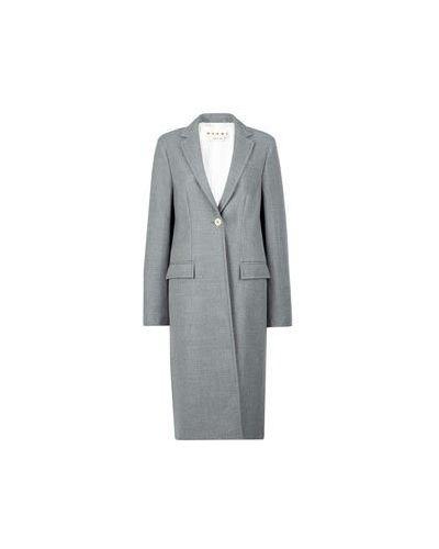 Пальто - серое Marni