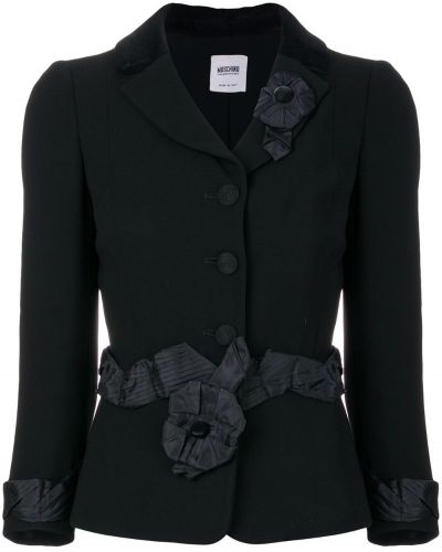 Черная куртка Moschino Pre-owned