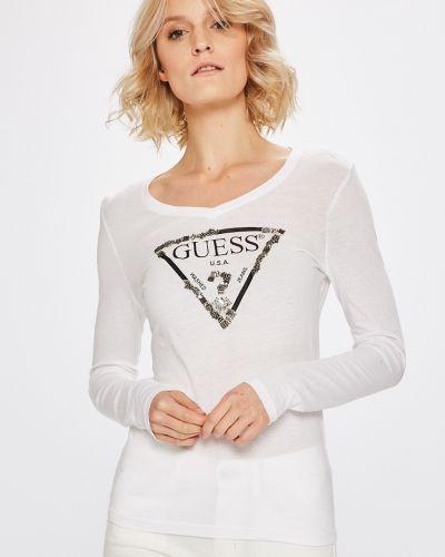 Блузка трикотажная с принтом Guess Jeans