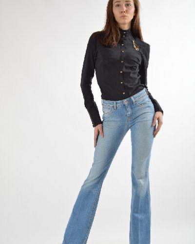 Синие расклешенные джинсы Guess Jeans
