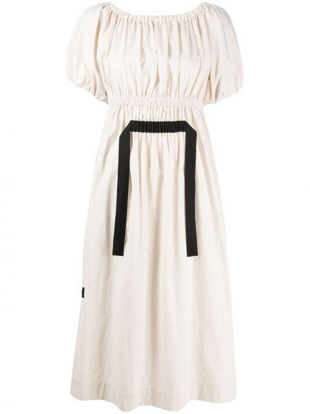Платье миди с открытой спиной с поясом Molly Goddard