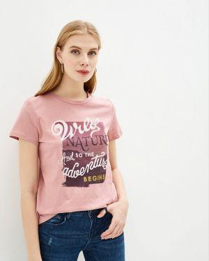 Поло розовый Nice & Chic