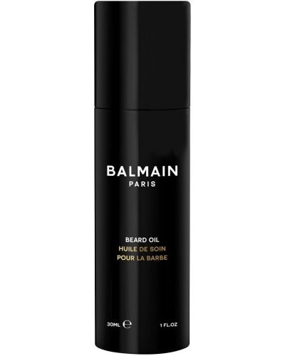 Fioletowy baza skórzany olej do twarzy przezroczysty Balmain Paris Hair Couture